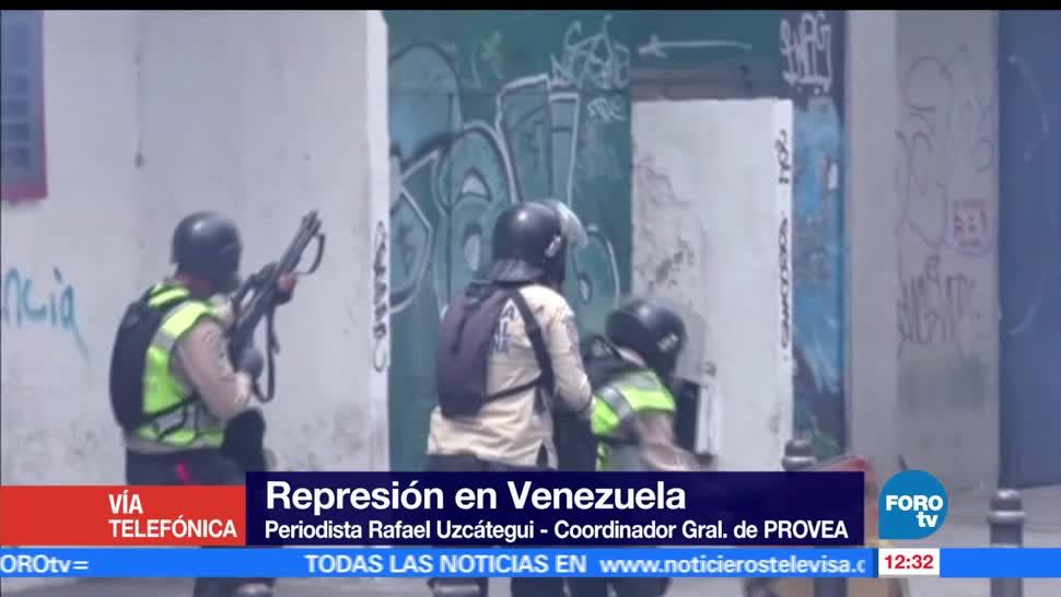 Rafael Uzcátegui, PROVEA, Venezuela, rebelión, gobierno, Nicolás Maduro