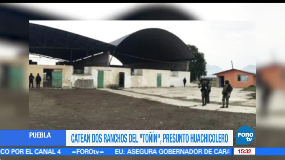 Catean, propiendas del El Toñín, huachicolero, Fiscalía de Puebla