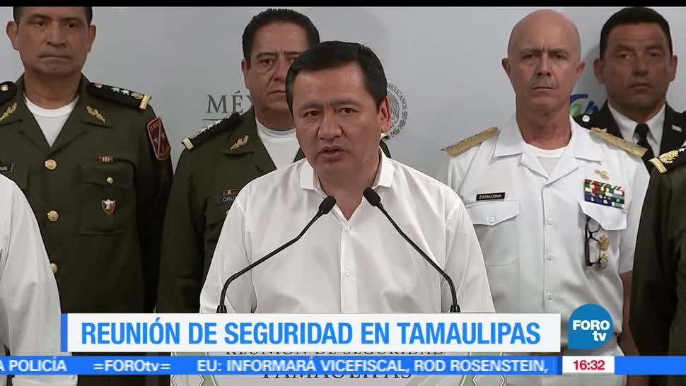 Miguel Ángel Osorio Chong, secretario de Gobernación, Generar pánico, seguridad en Tamaulipas