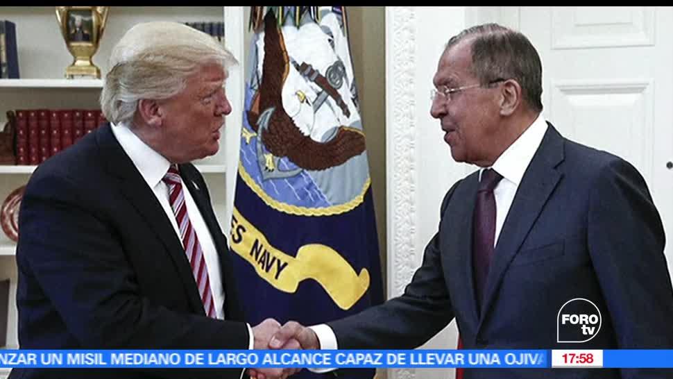 Medios estadounidenses, Trump reveló, información, Rusia