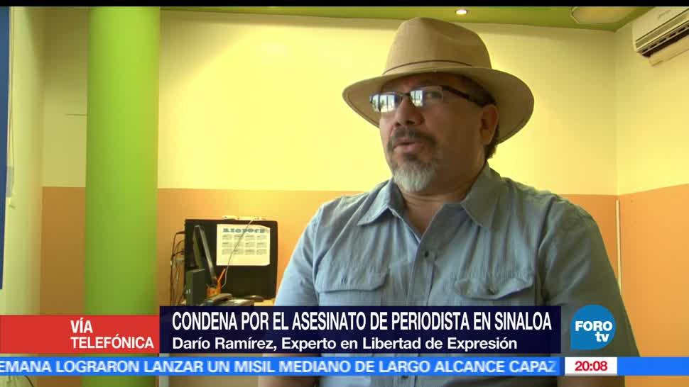 noticias, forotv, autoridades, garantizar la seguridad, periodistas, Dario Ramirez
