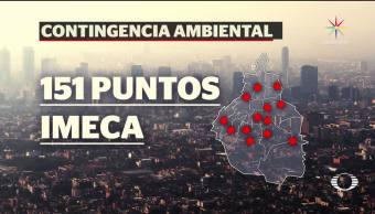 noticias, televisa news, contingencia ambiental, Valle de Mexico, Fase 1, Comisión Ambiental de la Megalópolis