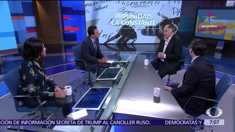 Ricardo Sánchez, fiscal, Libertad de Expresión, Héctor de Mauleón, Ana Ruelas,