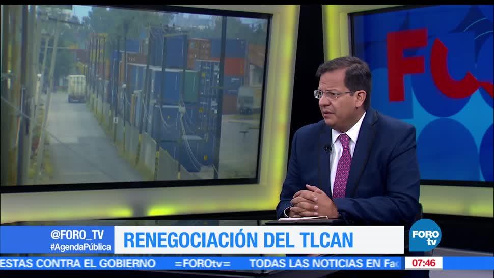 Adolfo Laborde, internacionalista, comercio exterior, renegociaciones del TLCAN