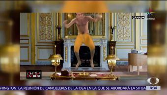 redes sociales, parodia de Emmanuel Macron, Emmanuel Macron, presidente de Francia,