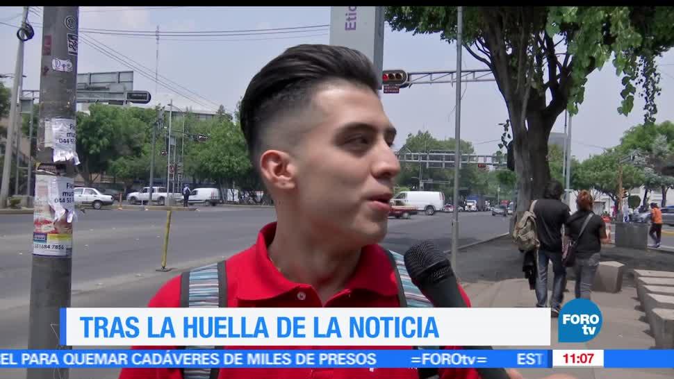 El Reporñero, calles, Ciudad de México, mexicanos