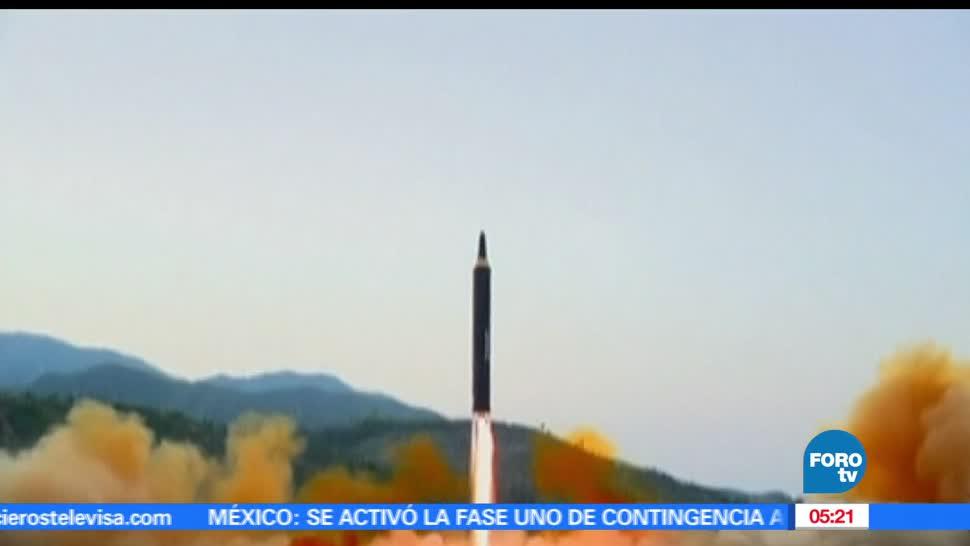 Corea del Norte, lanza nuevo misil, balístico, Consejo de Seguridad de la ONU