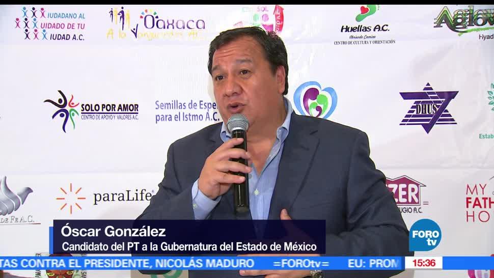 Oscar González, candidato del PT, convenio, contra la trata