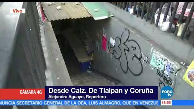 Muere, joven, asalto, desnivel de Tlalpan