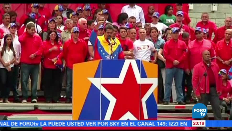 noticias, forotv, Decreta, estado de excepcion, Venezuela, Nicolas Maduro