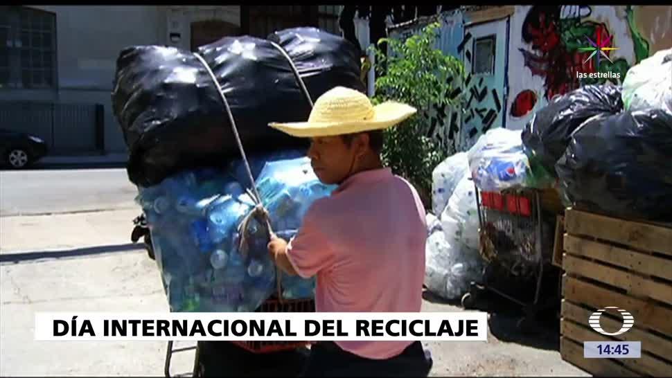 noticias, Televisa news, Día mundial del reciclaje, reciclaje, basura, día internacional del reciclaje