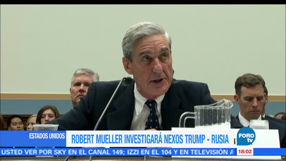 Robert Muller, investigará, caso, Trump Rusia, ex director, FBI