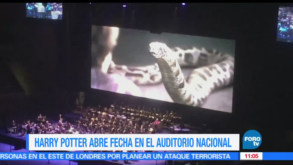 noticias, televisa news, Harry Potter, Auditorio Nacional, LoEspectaculardeME, Auditorio Nacional