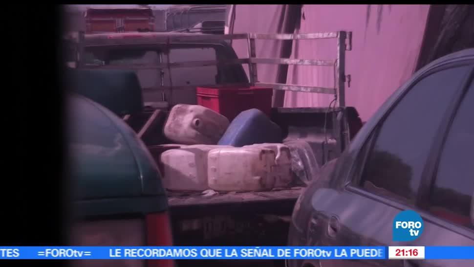 Venta, combustible robado, provoca, cierre de gasolinerías, huachicoleros, Puebla