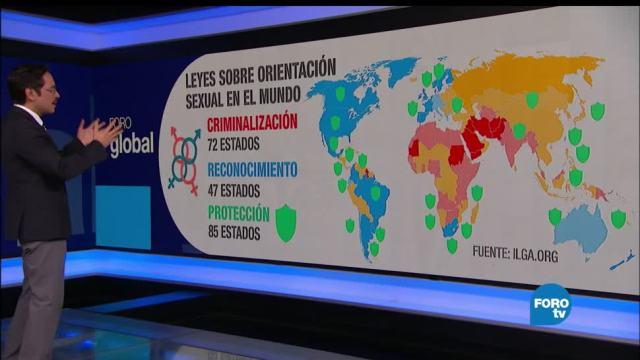 mapa, derechos, LGBT, OMS, homofobia, enfermedades mentales