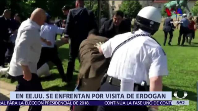 detenidos, heridos, protestas, embajada de Turquía, Washington