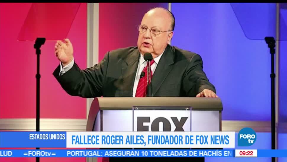 murió, 77 años, edad, Roger Ailes, fundador de Fox News, Estados Unidos