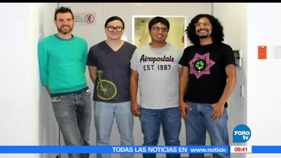 Estudiantes, Facultad de Ciencias, UNAM, producir un chip