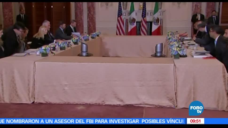reunión México-Estados Unidos, seguridad, delegación mexicana, delegación mexicana
