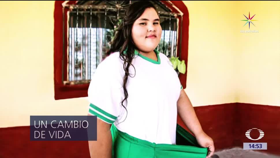 noticias, noticieros televisa, Los avances de Dayana, Dayana, obesidad, Sinaloa