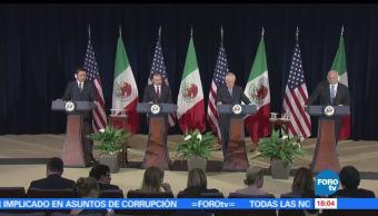 noticias, FOROtv, México, EU, coinciden en trabajar, narcotrafico