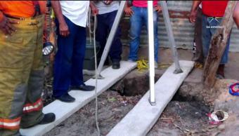 Pozo, mortal, Tabasco, Huimanguillo, Mueren, Por salvar niña cayo pozo
