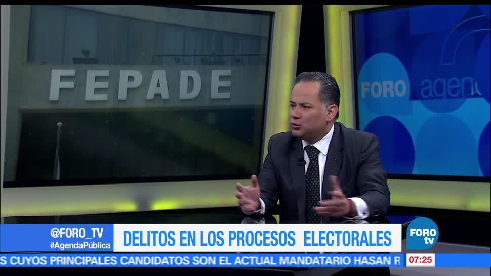 Santiago Nieto, titular de la Fepade, delitos, electorales
