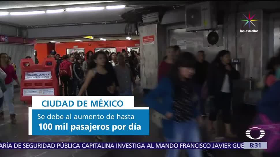 línea, Metro, calurosa, CDMX