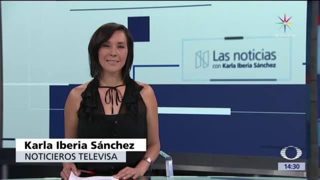 noticias, televisa news, Las noticias, con Karla Iberia, Programa, 19 de mayo 2017
