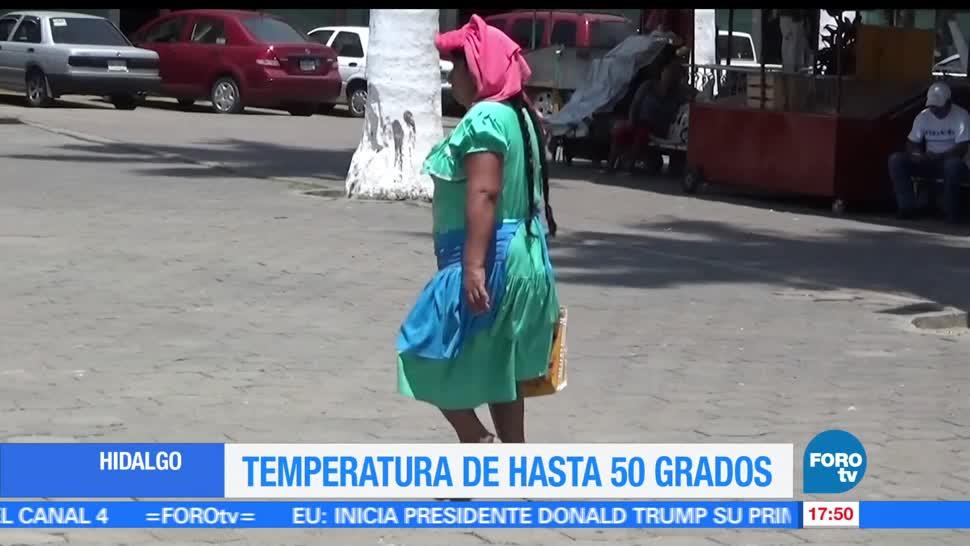 noticias, forotv, Calor extremo, Hidalgo, calor, huasteca hidalguense