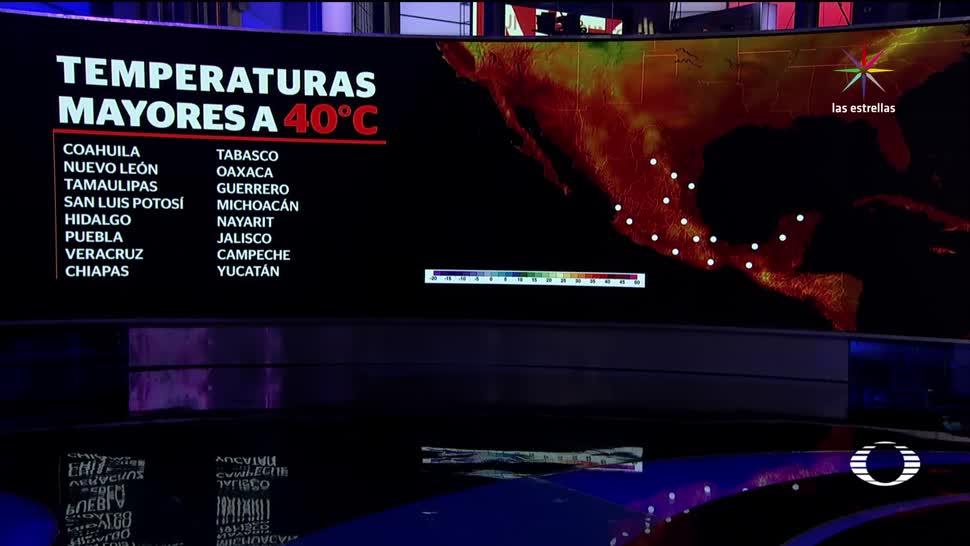 Registran, 16 estados, temperaturas, superiores, ola de calor, altas temperaturas