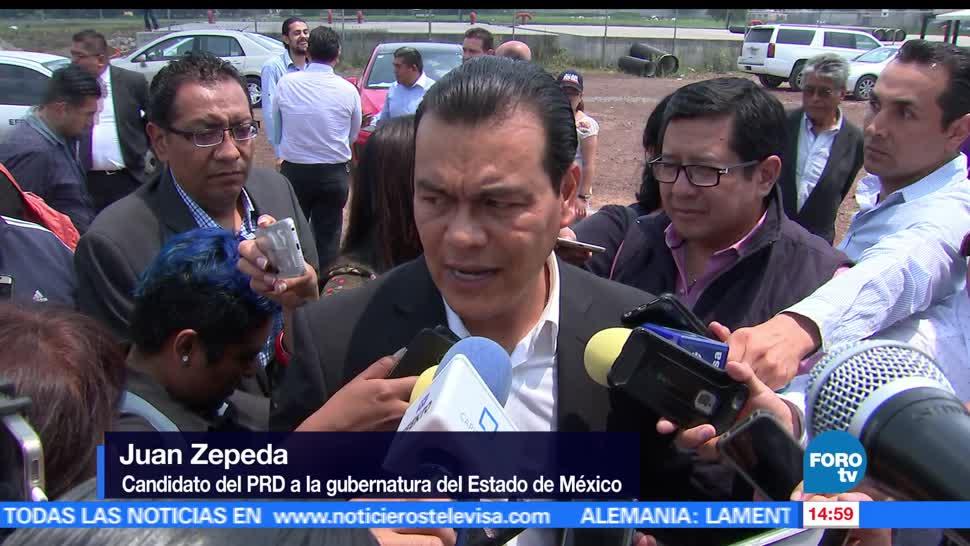 Juan Zepeda, candidato del PRD, encuentro, universitarios