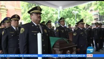 Homenaje, policía preventivo, enfrentamiento, GAM Gustavo A Madero, enfretamiento, delincuentes