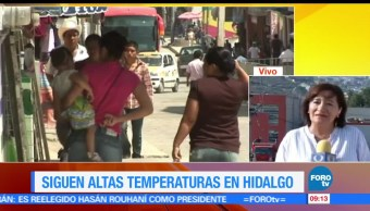 altas temperaturas, Pachuca, enfermedades , descomposición de alimentos