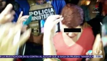 Detienen a Gina Domínguez, exvocera de Javier Duarte, abuso de autoridad, millones pesos