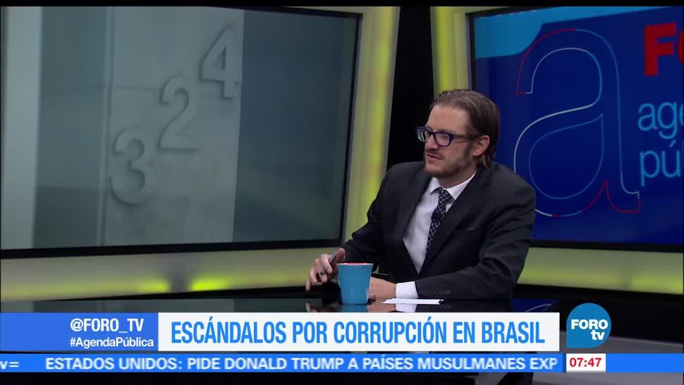 Hernán Gómez, América Latina, escándalo político en Brasil, recuperación económica