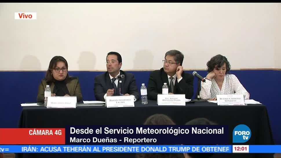 Servicio Meteorológico Nacional, CAMe, alta presión, contaminantes