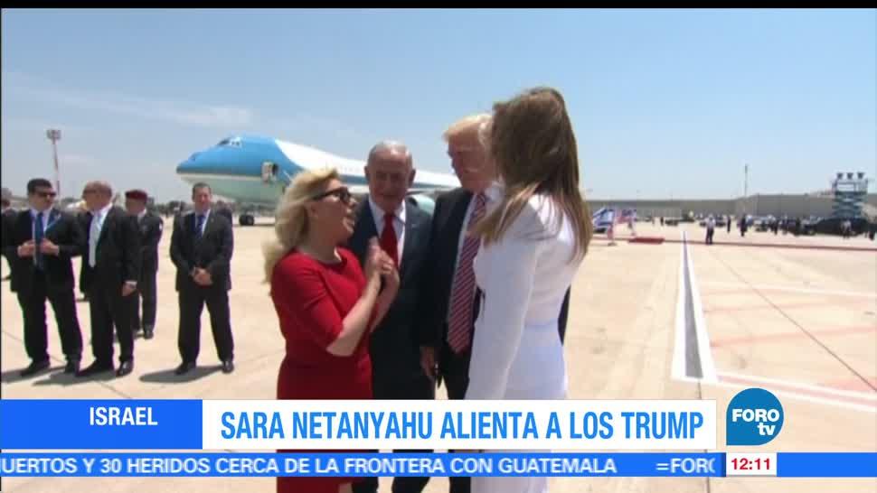 Sara Netanyahu, esposa del primer ministro, Israel, Melania, Donald