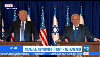 Estados Unidos, Trump, primer ministro, Israel, Netanyahu, primera gira internacional