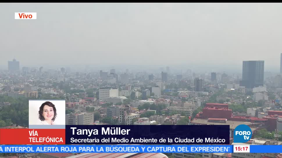 Tanya Müller, secretaria del Medio Ambiente de la CDMX, políticas, ambientales