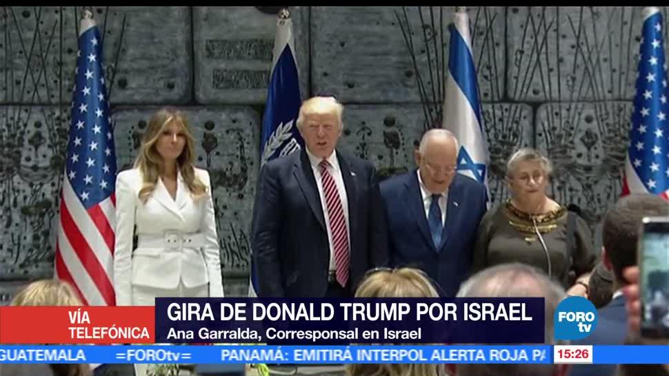 presidente de estados unidos, Gira, Donald Trump, Israel
