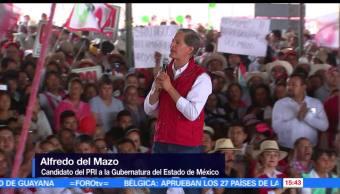 alfredo del mazo maza, Partido Revolucionario Institucional (PRI), inversionistas, Edomex