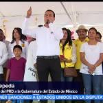 Juan Zepeda, Partido de la Revolución Democrática (PRD), confianza de mexiquenses
