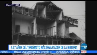 noticias, forotv, Efemeride, En Una Hora, Terremoto, Valdivia