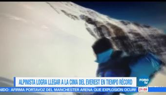 noticias, forotv, Alpinista, espanol, cima, Everest