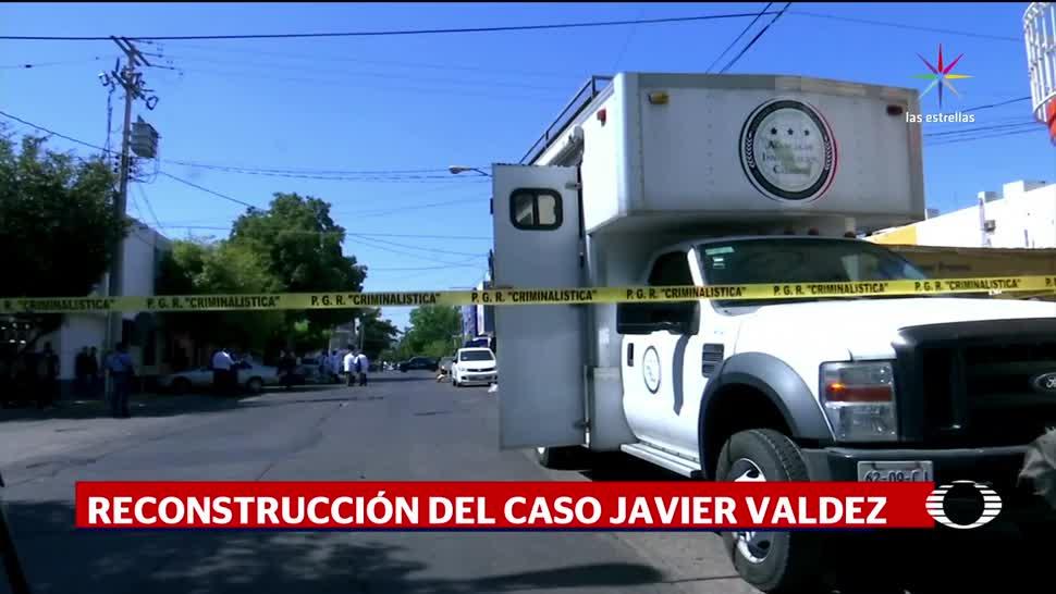 noticias, televisa news, Reconstruyen, asesinato, periodista, Javier Valdez
