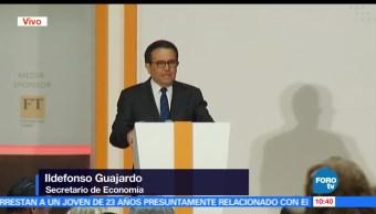 secretario de Economía, Ildefonso Guajardo, encuentro, México, América del norte