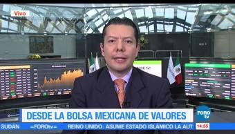Carlos González Tabares, analista financiero, Bolsas mantienen, turbulencias políticas