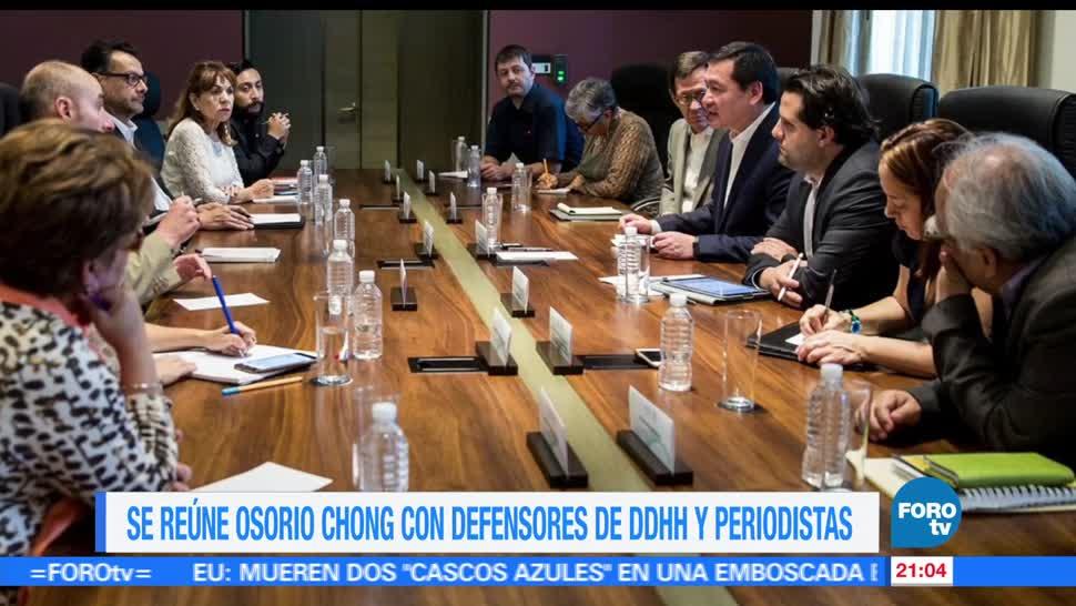 noticias, forotv, Osorio Chong, integrantes, mecanismo, proteccion a periodistas
