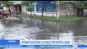 noticias, forotv, Fuertes tormentas, en Oaxaca, activan, plan de auxilio